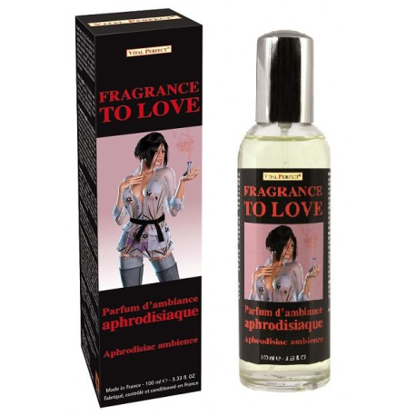 Fragrance to Love, parfum d'ambiance aphrodisiaque par Vital Perfect