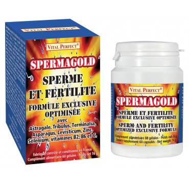 Spermagold pour augmenter sa production de sperme par Vital Perfect